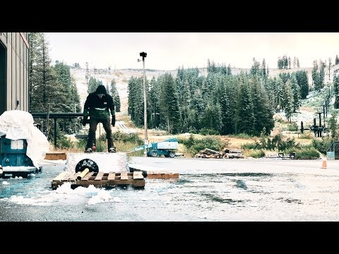First Day Snowboarding in Tahoe || September 28th 2019