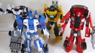 Review: Combiner Wars Deluxe Class Prowl, Sunstreaker, Mirage, & Ironhide (Transformers Generations)