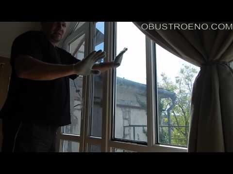 Как затонировать окно в квартире своими руками видео