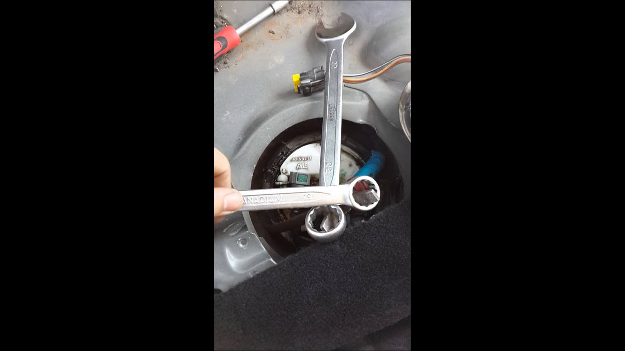 Замена бензонасоса рено меган 2