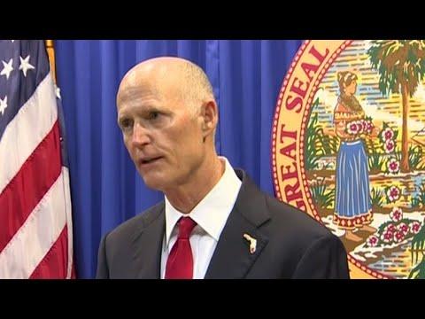 Florida Gov. Rick Scott announces plan to combat school gun violence