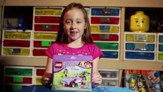 LEGO Friends Emma's Spors Car Review BrickGrrl EP 8