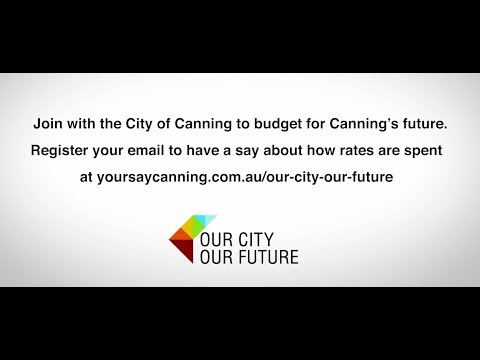 Have a say in how resources are allocated in Canning