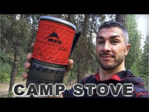 MSR Windburner ... BEST Backpacking Stove?