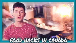 Inspiring Canadian Food Tricks!