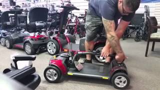 Pride Go-Go Elite Traveller Plus 4 SC54 Review - Statewide Mobility, Inc.