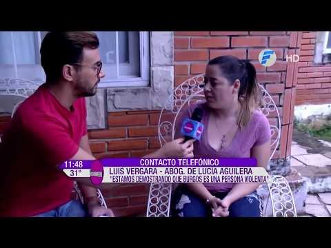 La mamá de Rodrigo Burgos detalló la manera en que él la golpeó frente a sus seres queridos
