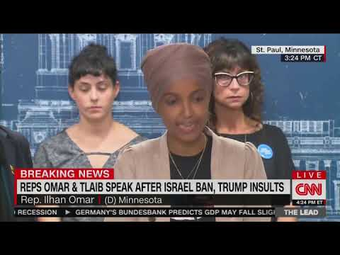 Ilhan Omar claims Trump wants to pit Muslims and Jews against each other