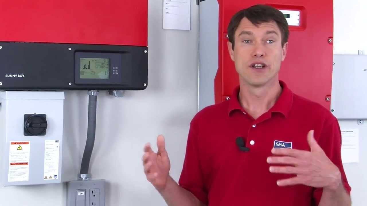 tech tip installation tips for the sunny boy tl us series youtube rh youtube com Sunny Boy Inverter 3000 Older Sunny Boy Inverter