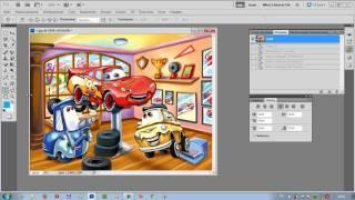 Работа с инструментами в программе Adobe Photoshop часть 4