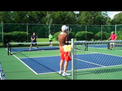 Waterside 2015 Mens Pickleball Finals