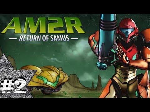 AM2R: Return of Samus #2 (Green Rocks + Commentary)