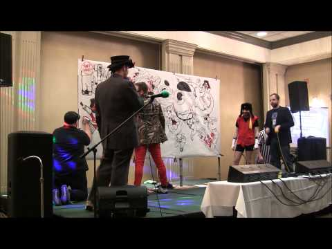 Super Art Fight @ Voltaire's Wicked NecroComicon 2014