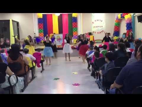 Coreografia Yeshuá  - Mundo Colorido - Sabrina Almeida