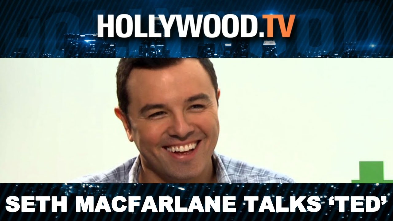 Seth MacFarlane Screens 'Ted', Sexiest Scenes a Secret!-- Hollywood.TV