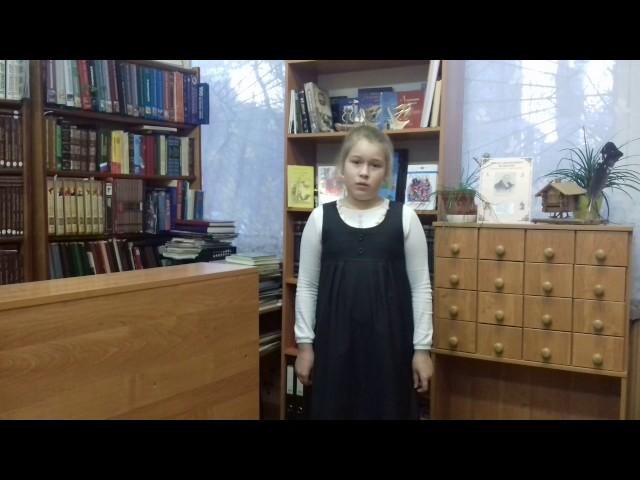 Изображение предпросмотра прочтения – ПолинаШумилова читает произведение «Лебедь, Рак и Щука» И.А.Крылова