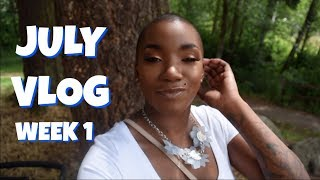 JULY VLOG | WEEK 1 | BEAUTY BY KANDI