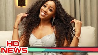 Sbahle Mpisane talks about her car crash