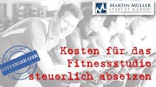 Kosten für das Fitnessstudio steuerlich absetzen