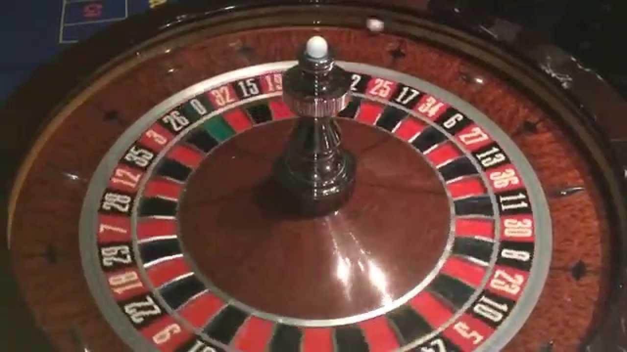 Casino wheel glitch