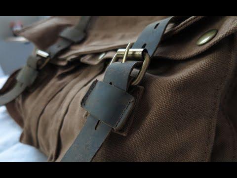 17d3fe1b5b Berchirly Military Canvas Shoulder Messenger Bag for 17.3 inch ...
