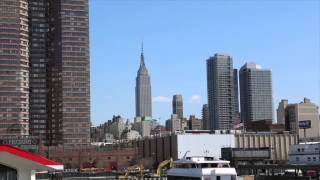 Reportaje de New York City desde el Cruceros turísticos Circle Line