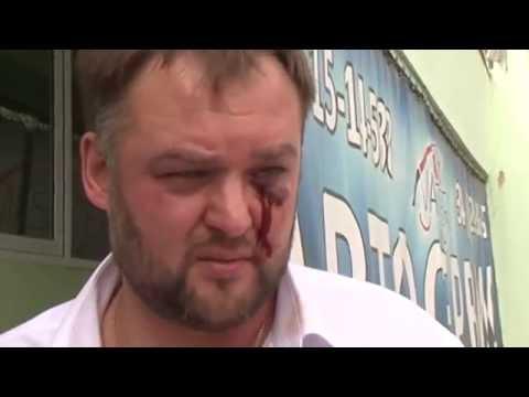 Екатеринбургского юриста Ивана Волкова избили, когда он забирал свою машину из автосервиса