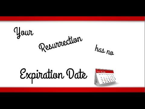 """Your Resurrection Has No Expiration Date"" – Evangelist Jordan Poland"