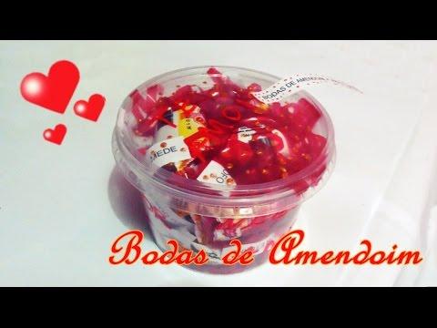 08843478e6fed DIY  Bodas de Namoro - 4 anos e 5 meses - Bodas de Amendoim- Presente  criativo