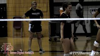 Raven Volleyball: The First Day