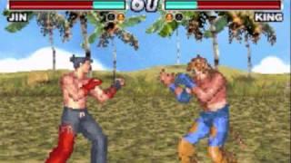 Tekken Advance Jin walkthrough
