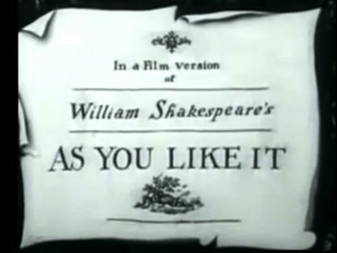 As You Like It (1936) [Drama] [Comedy]