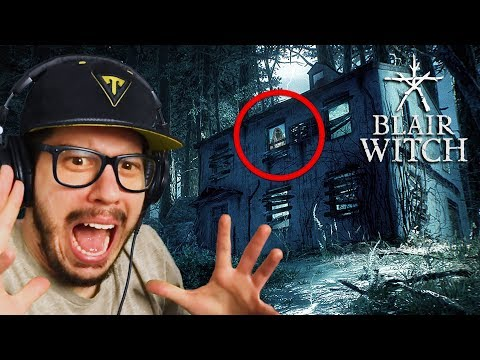 THIS GAME IS SO SCARY!! (Blair Witch)