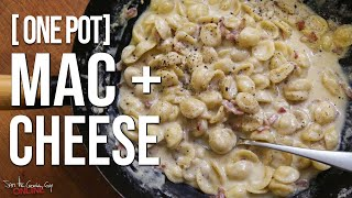 Easy one pot mac n' cheese (with bacon & garlic) - no mess, no fuss, just fricking delicious. SUBSCRIBE: http://bit.ly/stcgsub | MERCH: http://bit.ly/M_A_C_A ...