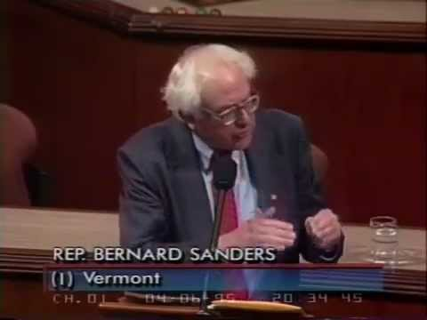 Bernie Sanders: Reagan and Corporate Welfare (4/6/1995)