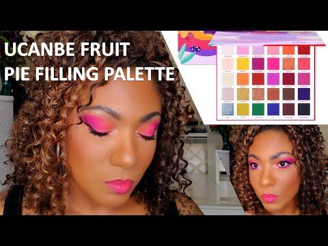 UCANBE Fruit Pie Filling Palette - Simple Pink Ombre Eye Look thumbnail