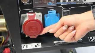 генератор Hyundai HY 7000LE 3 смотреть