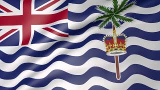 British Indian Ocean Territory Animated Flag