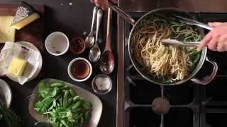Fresh Pasta Primavera Recipe | Williams-sonoma