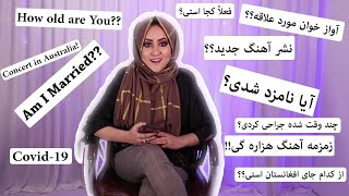 Q&A with Zahra Elham   سوال و جواب با زهرا الهام