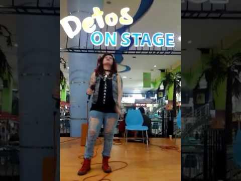 KARIN INK Cover Lagu Mahadewi - Risalah Hati . Performance At DETOS (DEPOK TOWN SQUARE)