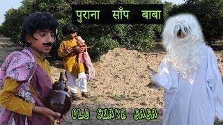 Gareeb Saanp Pakadane Vaala Aur Boodha Saanp Baba   Social Message Video