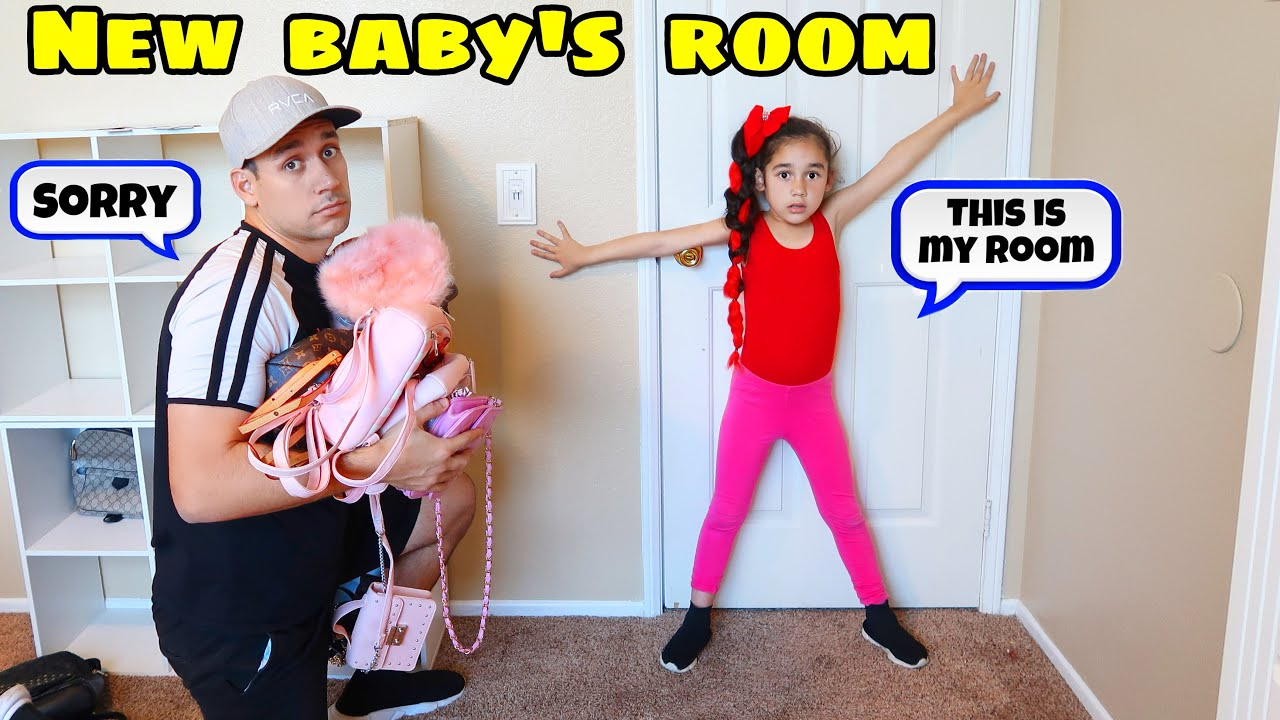 Suri Has To Move OUT Of Her Room And Give It To Her New BABY Sister!! | Jancy Family - YouTube