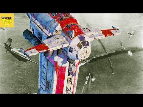 How World War II Influences Star Wars Space Combat