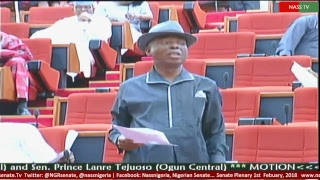 Senate Plenary, 1st Febuary, 2018