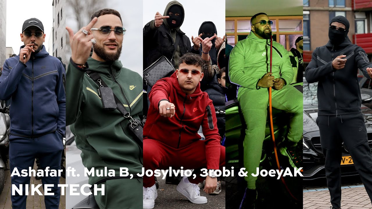 Download Ashafar - NIKE TECH ft. Mula B, Josylvio, 3robi & JoeyAK (prod. Trobi)