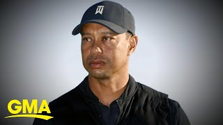 Tiger Woods breaks silence after crash l GMA