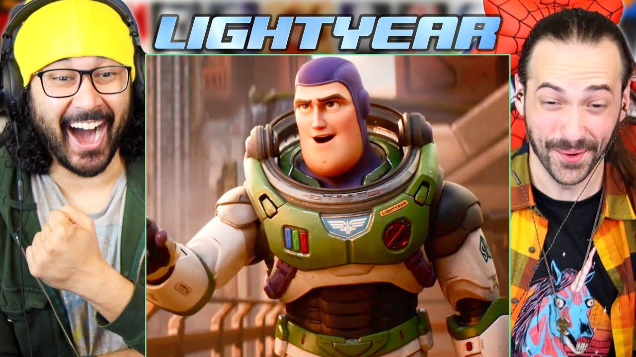 Download LIGHTYEAR TRAILER REACTION!! (Disney Pixar | Chris Evans | Buzz Lightyear)