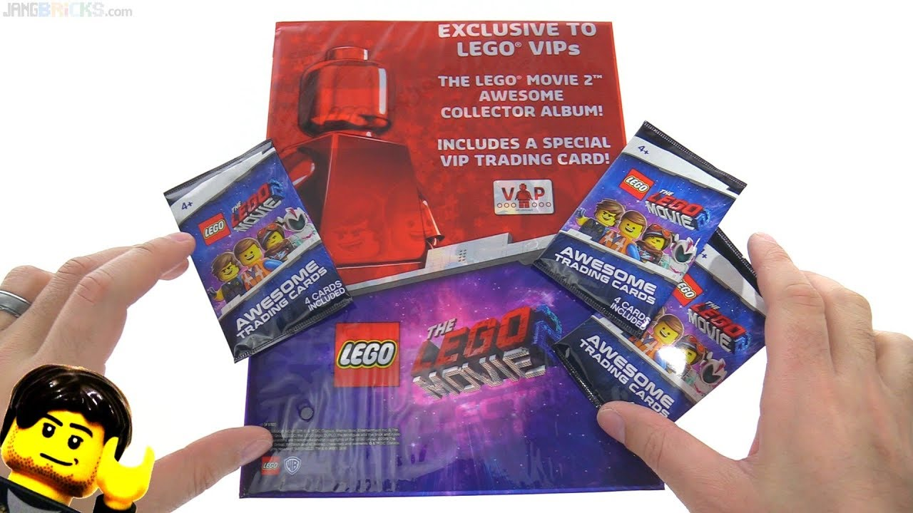 Lego Movie 2 Collectible Trading Cards Opening Youtube