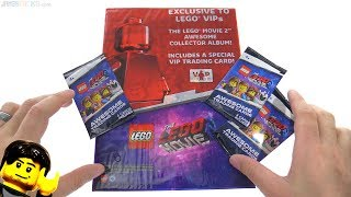 Baixar LEGO Movie 2 Collectible Trading Cards opening 🧐